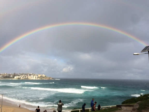 Bondi rainbow