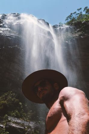 Wentworth Falls - Me